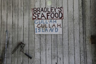 James Bradley's shrimp boat dock is a landmark location on St. Helena's Island. The spot has been featured on Nickelodeon's Gullah Gullah Island TV show.