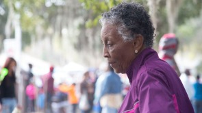 Maggie Fitts, who grew up on St. Helena Island, now makes the trip from Miami, Fla., each year to attend the Heritage Days Festival. Photo by Michael Tolbert
